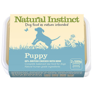 Natural Instinct Puppy 500gx2