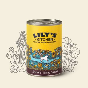 Lily's Kitchen Chicken & Turkey Can 400gX6