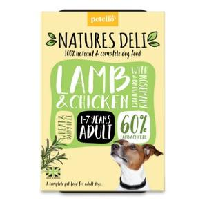 Natures Deli Lamb & Chicken with Brown Rice 400g