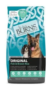 Burns Original Fish & Brown Rice 12kg