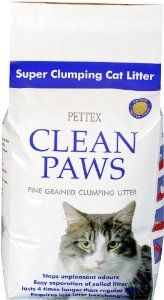 Clean Paws Cat Litter 15kg