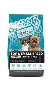 Burns Original Toy & Small Breed Chicken & Brown Rice 6kg